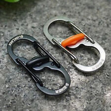 Steel Carabiner Key Chain Hook Clip Outdoor Camping Hiking Snap EDC Tool Hot