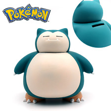 Pokemon Snorlax Coin Bank Pocket Monster Kids Saving Money Box  Piggy Bank Gift