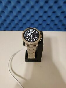 Fossil Gen 3 Q Explorist 44mm Stainless Steel Android Watch with charging stand