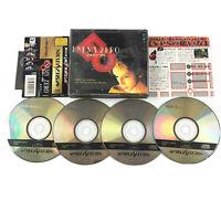 ENEMY ZERO 3D Sega Saturn Interactive Movie 4-Disc + Spine Card NTSC-J Japanese