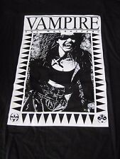 Vintage Vampire The Masquerade T-Shirt White Wolf Game Studio Large