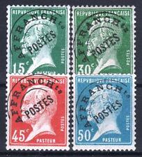 "FRANCE STAMP PREOBLITERE 65 / 68 "" PASTEUR 4 TIMBRES "" NEUFS xx TTB  P728"