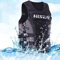 Adult Kid Swimming Neoprene Life Jacket Ski Buoyancy Aid Sailing Watersport Vest