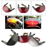 LED Taillight Smoke Integrated Turn Signal For Honda CBR600RR 2007-2012 ABS