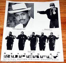 EAZY-E 1990 Return Of Superfly Tone Loc 8x10 Press Photo Lot Hip Hop Rap Eazy E