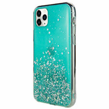 For iPhone 11 Pro - Switcheasy Blue Starfield Quicksand Style Case
