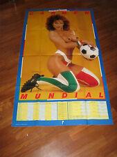 MANIFESTO,CARMEN RUSSO,PLAYMEN,SEXY,MONDIALI,CALCIO,FOOTBALL,SOCCER,1982,ITALIA