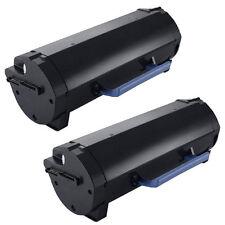 2PK High Yield Toner for Dell B2360D B2360DN B3460DN Printer 331-9805, 9GG2G