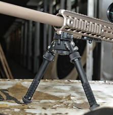 Fde Adjustable leg, Rifle Bipod with Spike & Handgrip. Rotating.,Quick Release