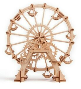 Wood Trick Mechanical 3D Puzzle. The Observation Wheel
