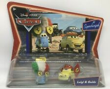 CARS - LUIGI & GUIDO FERRARI FANS - Mattel Disney Pixar