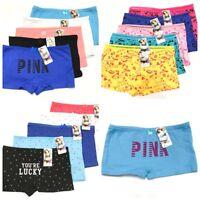 NEW Lot 5 Boyshorts Panties Cotton Underwear Womens Ladies Girls Size M L XL