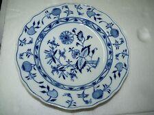 Beautiful Antique 1900-1910 Marked Meissen Zwiebelmuster Deep Plate,  D 24.7 cm