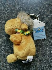 Nici Camel plush Keyring new