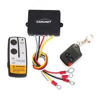 Car Electric Winch Wireless Remote Control 12V/50ft for Jeep SUV Truck ATV Tuff