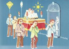 (07207) Postcard Malta Christmas Eve Procession 1981