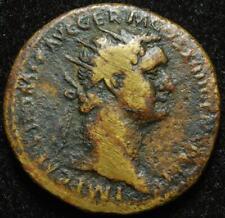 More details for domitian ae dupondius, r. virtus, rome mint 88-89ad - ric 644