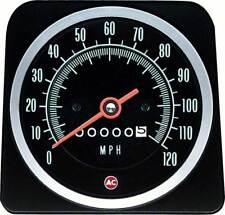 1969 Camaro without Speed Warning 120MPH Speedometer