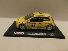 Polistil 2002 Fiat Punto Super 1600 G. Basso Rallye de Monte Carlo Saico 2002!