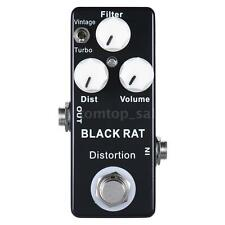Classic and T-turbo Rat Distortion Guitar Effect Pedal True Bypass F3I3
