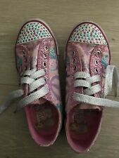 Sketchers Girls Twinkle Toes Size 3 Shoes - Fast Post!