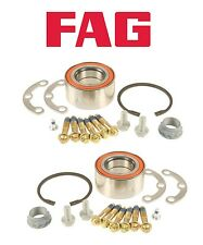 For Mercedes W201 190D 190E W202 C230 Pair Set of Two Rear Wheel Bearing Kits