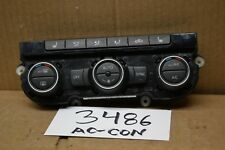 12 13 14 15 Volkswagen Passat AC and Heater Control Used Stock #3486-AC