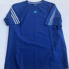 Adidas Shirt Mens Large Climacool Athletic top Blue