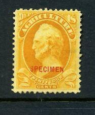 Scott #O8S Agriculture Dept Official Unused Specimen Stamp (Stock #O8-2)