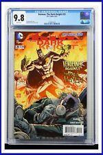 Batman The Dark Knight #21 CGC Graded 9.8 DC August 2013 White Pages Comic Book