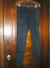 $98 SILENCE + NOISE PULL ON DENIM LEGGINGS COTTON BLEND SZ S 1017 NEW