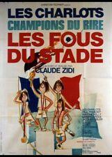 affiche du film FOUS DU STADE (LES) 60x80 cm