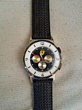 Orologio Marca FERRARI da polso, cronometro analogico e cinturino gomma/silicone