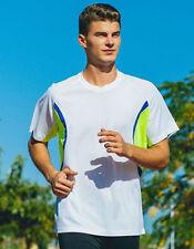 Bequem sitzende Herren-T-Shirts aus Polyester in Größe XL