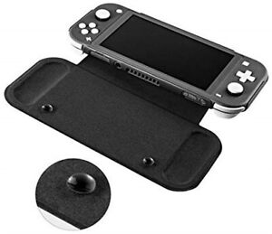 Ultra Slim Flip Cover Case & Tempered Screen Protector for Nintendo Switch Lite