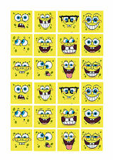 24 x Spongebob Cup Cake Toppers ICING