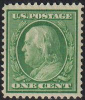SC#357- 1c  Benjamin Franklin MH F-VF