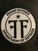 RARE FRINGE Division 1/250 Bam Box Exclusive Black & White Patch New