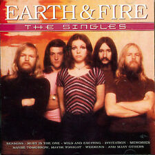 EARTH AND FIRE - SINGLES NEW CD