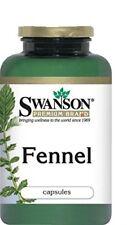 Fennel 480 mg 100 Capsules (Foeniculum vulgare) by Swanson Premium