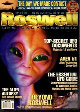 Ufo Complete Roswell Encyclopedia Magazine Area 51 Alien Autopsy Vg