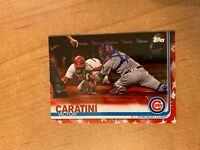 2019 Topps Series 2 - Victor Caratini - #389 Independence Day Parallel #'d 08/76