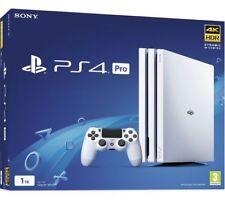 Sony PLAYSTATION PS4 PRO 1TB 4K Console-Bianco | Nuovo Sigillato | | Qik shipn | GHz | UK