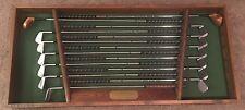 Jack Nicklaus Collectors Set MacGregor Muirfield Complete Set with Display Box