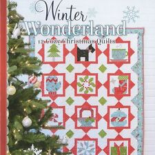 NEW BOOK: Winter Wonderland: 12 Cozy Christmas Quilts by Sherri Falls