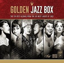 GOLDEN JAZZ BOX (LADIES OF JAZZ) with Billie Holiday, Nina Simone 6 CD NEW+