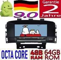 4GB RAM ANDROID 9.0 OPEL ASTRA J CASCADA RADIO AUTO 4G SD DVD GPS USB CAR WIFI
