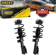 OREDY Front Pair Complete Struts w/ Coil Spring Assembly for Buick Enclave 08-16