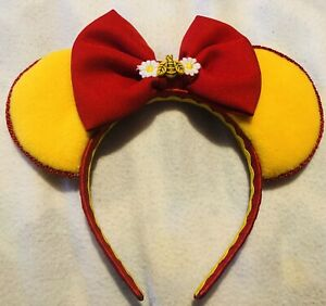 Disney Inspired Handmade Winnie The Pooh Ears Headband BNWOT
