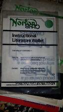 Norton Commando Original Service Book, Guarantee Card sealed & Owners Handbook.
